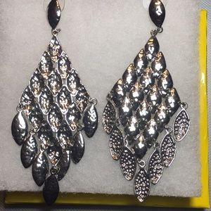 Kendra Scott Chandelier Silver Earrings